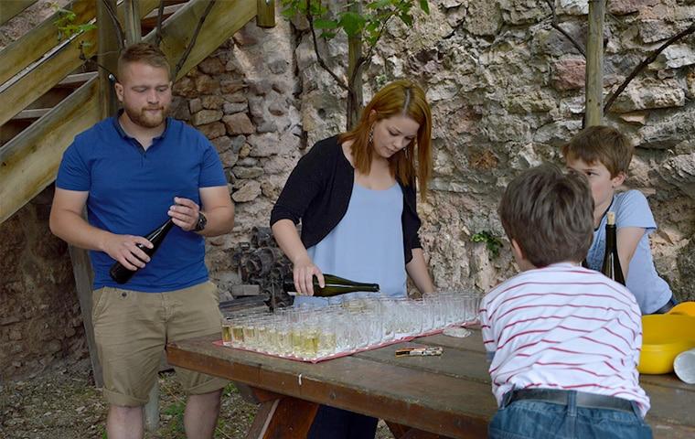 Pique Nique Chez le Vigneron Indépendant Alsace Paul SPANNAGEL