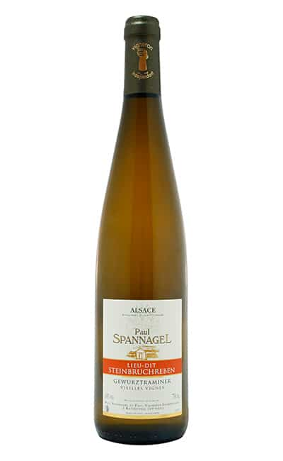 AOC Alsace GEWURZTRAMINER 2015 Steinbruchreben Vieilles Vignes