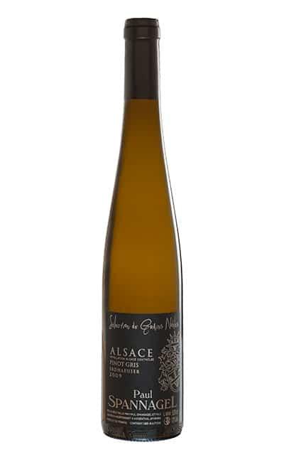 AOC Alsace PINOT GRIS 2009 Sélection de Grains Nobles 50 cl